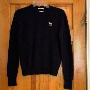 Navy Abercrombie sweater
